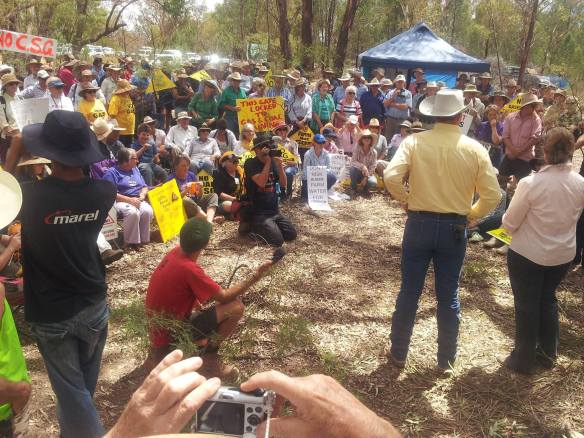 Pilliga crowd Fenton